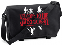WELCOME TO THE UPSIDE DOWN HEAD M/BAG - INSPIRED BY STRANGER THINGS